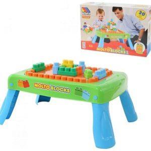 Игровой набор Полесье Molto Конструктор зеленый