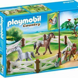Игровой набор - Загон для лошадей