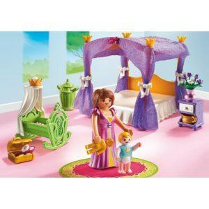 Игровой набор - Замок Принцессы: Покои Принцессы с колыбелью