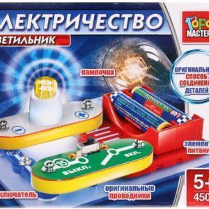 Электронный конструктор – Светильник. 1 схема