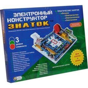 Электронный конструктор Знаток 999 схем