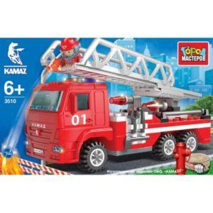 Конструктор - Камаз: Пожарная машина с лестницей