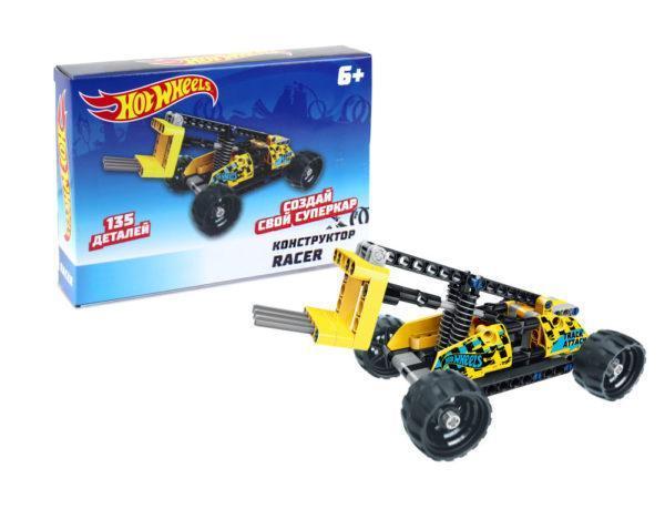 Конструктор 1TOY «Hot Wheels: Racer» (135 деталей, арт. Т15400)