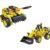 Конструктор 2 в 1 «Бульдозер и танк» (QiHui Technics, 261 деталь)