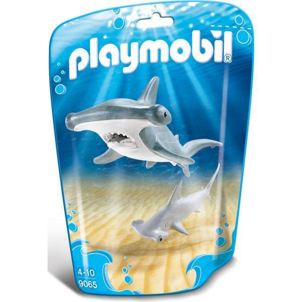 Конструктор «Аквариум: Молотоголовая акула с детёнышем»