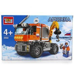 Конструктор «Арктика: Вездеход-кран» (168 деталей, арт. 2502)