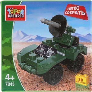 Конструктор «Армия: БТР» из серии «Легко собрать» (20 элементов, арт. 7043)
