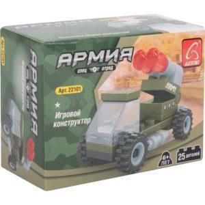 Конструктор «Армия: Ракетная установка» (25 деталей)