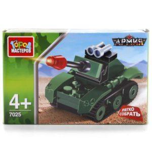 Конструктор «Армия: Танк» из серии «Легко собрать» (29 деталей, арт. 7025)