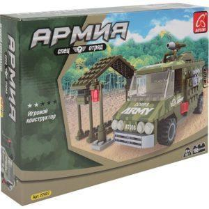 Конструктор «Армия: Военная машина» (166 деталей)