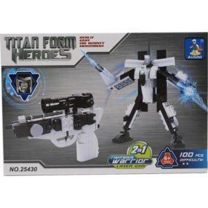 Конструктор Ausini 2в1 Пистолет-Робот