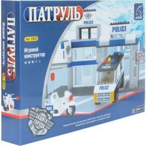 Конструктор Ausini Патруль Полицейский участок