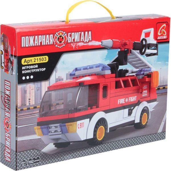 Конструктор Ausini «Пожарные» (192 деталей, арт. 21503)
