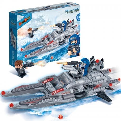 Конструктор BanBao «Подводная лодка» (275 деталей, арт. 6211)