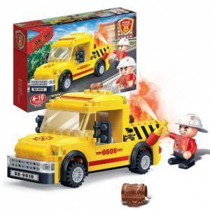 Конструктор BanBao «Пожарная машина» (105 деталей, арт. 7108)