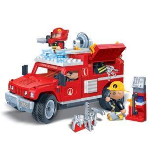 Конструктор BanBao «Пожарная машина» с аксессуарами (242 детали, арт. 8316)