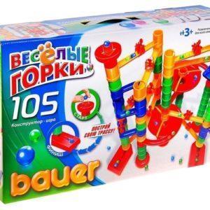 Конструктор Bauer «Весёлые горки» (105 элементов, арт. 274)
