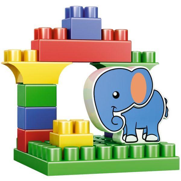 Конструктор Bauer «Зооблокс: Слон» (12 деталей, арт. 547)