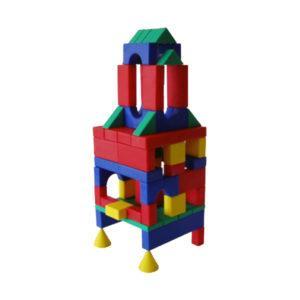 Конструктор блочный «Классический строительный набор №1» (68 деталей, арт. С-87)
