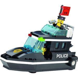 Конструктор Brick Полицейский катер (95 дет)