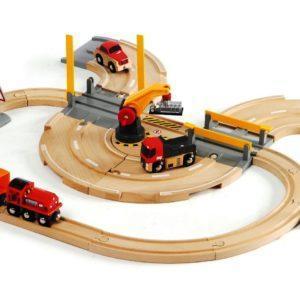 Конструктор Brio «Железнодорожный переезд» (26 элементов, арт. 33208)