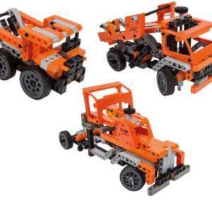 Конструктор Clementoni «Транспортные и карьерные грузовики» 75029