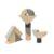 Конструктор деревянный Plan Toys «Фигурные блоки» (8 деталей, арт. 5508)