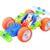 Конструктор гибкий – Гоночная машина, 60 деталей