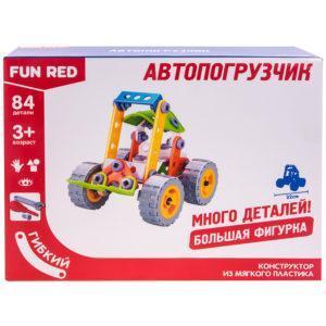 """Конструктор гибкий """"Автопогрузчик Fun Red"""", 84 детали"""