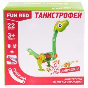 "Конструктор гибкий ""Танистрофей Fun Red"", 22 детали"