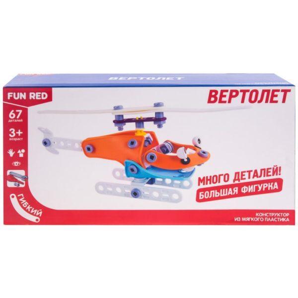 Конструктор гибкий - Вертолет, 67 деталей