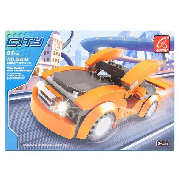 Конструктор «Город: Автомобиль» (арт. 25334, 97 деталей)