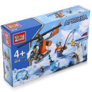 Конструктор Город мастеров «Арктика: Вертолёт» (85 деталей, арт. 2518)