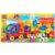 Конструктор Город мастеров «Большие кубики: Машина с прицепом» (37 деталей, арт. 1024)