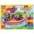 Конструктор Город мастеров «Большие кубики: Пожарный катер» (19 деталей, арт. 1023)