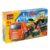 Конструктор Город мастеров «Стройка: КамАЗ-перевозчик с бульдозером» (170 деталей, арт. 7529)