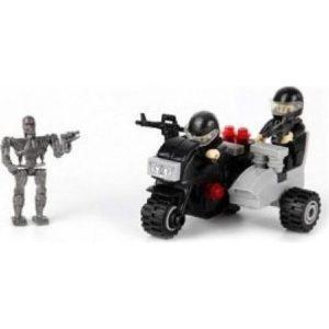 Конструктор Город мастеров «Терминатор-2: Мотоцикл» (55 деталей, арт. 6744)