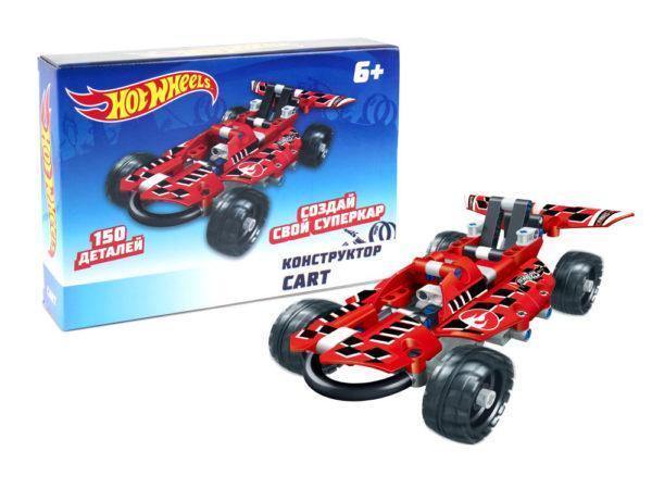 Конструктор Hot Wheels «Cart» (150 деталей)