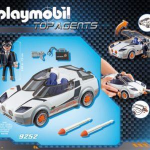 Конструктор игровой Playmobil «Агент Р. с гонщиком» (арт. 9252)
