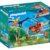 Конструктор игровой Playmobil «Динозавры: Вертолёт для приключений с птеродактилем» (арт. 9430)