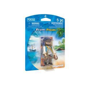 Конструктор игровой Playmobil «Друзья: Пират» (арт. 70032)