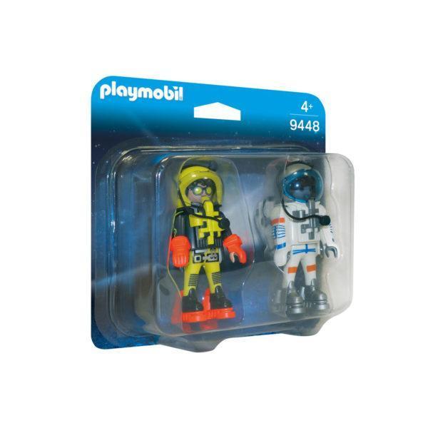 Конструктор игровой Playmobil «ДУО: Астронавты» (арт. 9448)
