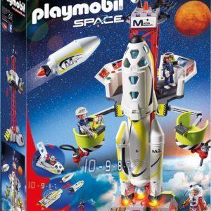 Конструктор игровой Playmobil «Космос: Ракета-носитель с космодромом» (арт. 9488)