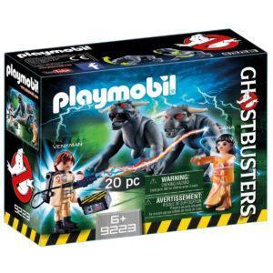 Конструктор игровой Playmobil «Охотник за привидениями: Питер Венкман и ужасные собаки» (арт. 9223)
