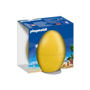 Конструктор игровой Playmobil «Пасхальное яйцо: Пират с пушкой» (арт. 9415)