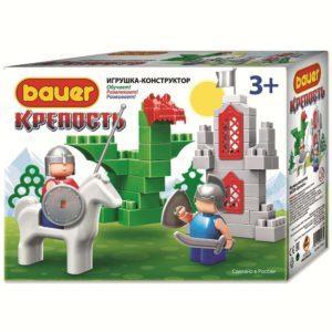 Конструктор-игрушка Bauer «Крепость: Всадник и дракон» (арт. 461)