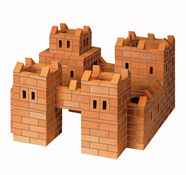 Конструктор из настоящих кирпичиков «Замок» (514 деталей)