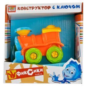 Конструктор из серии Фиксики – Локомотив, с отверткой