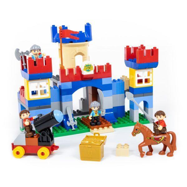 Конструктор из серии Макси – Замок, 120 элементов, в коробке