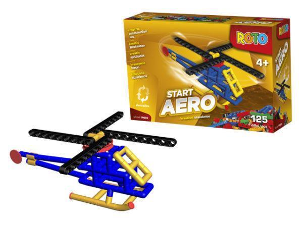 Конструктор из серии Рото – Вертолет, 125 деталей